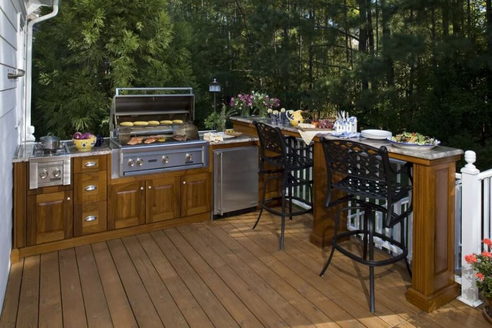 Summer Kitchen with a Barbecue | DIY Outdoor Kitchen Ideas (Cheap, Simple, Modern, and Country)