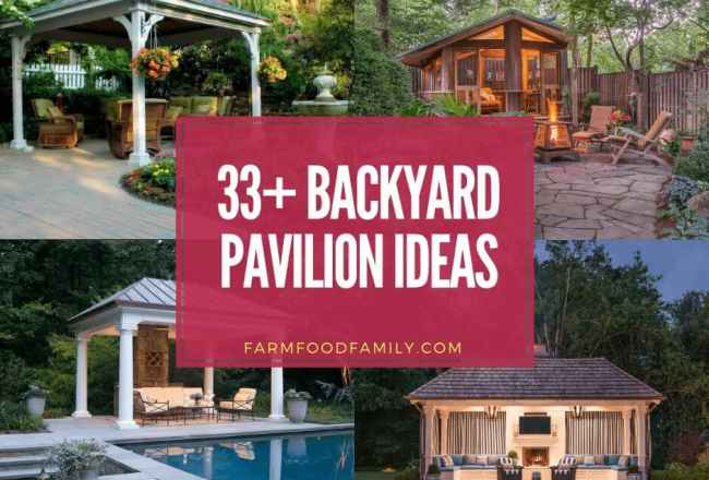 Top 33 Backyard Pavilion Ideas For Your Home