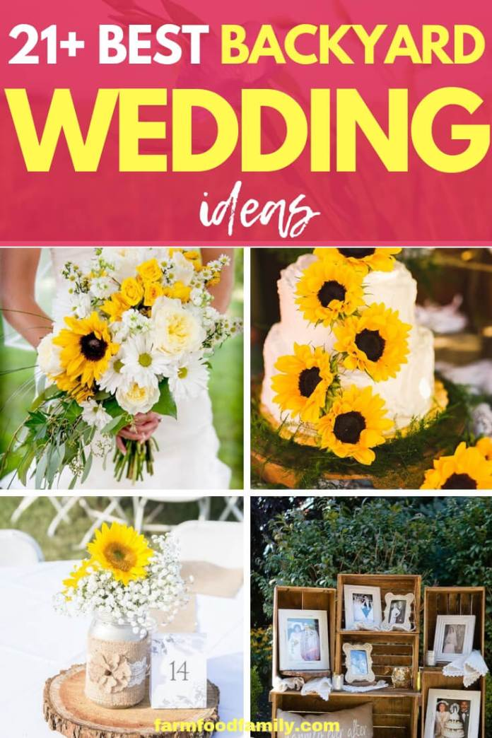 Creative & Rustic Backyard Wedding Ideas For Summer & Fall