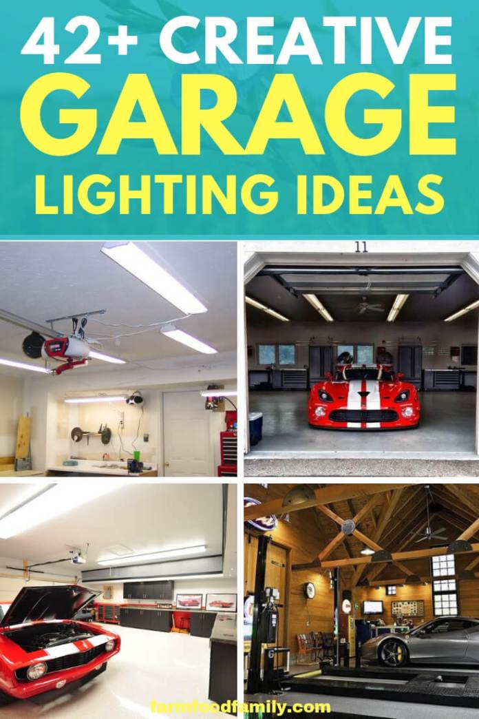 Best garage lighting ideas (interior and exterior decor)