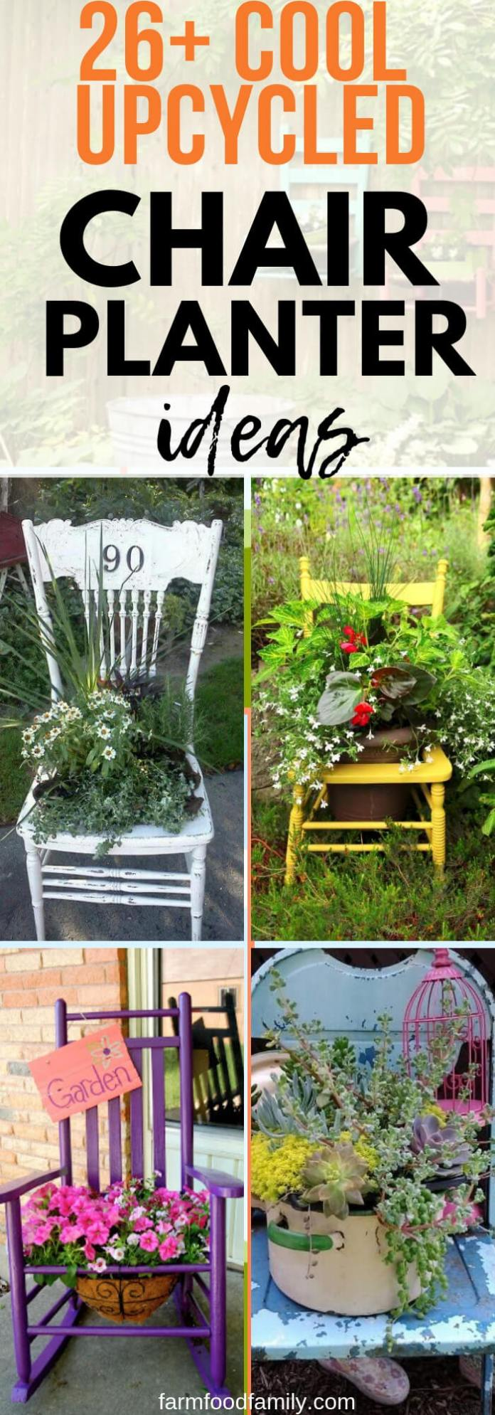 Best Upcycled DIY Chair Planter Ideas For Your Garden