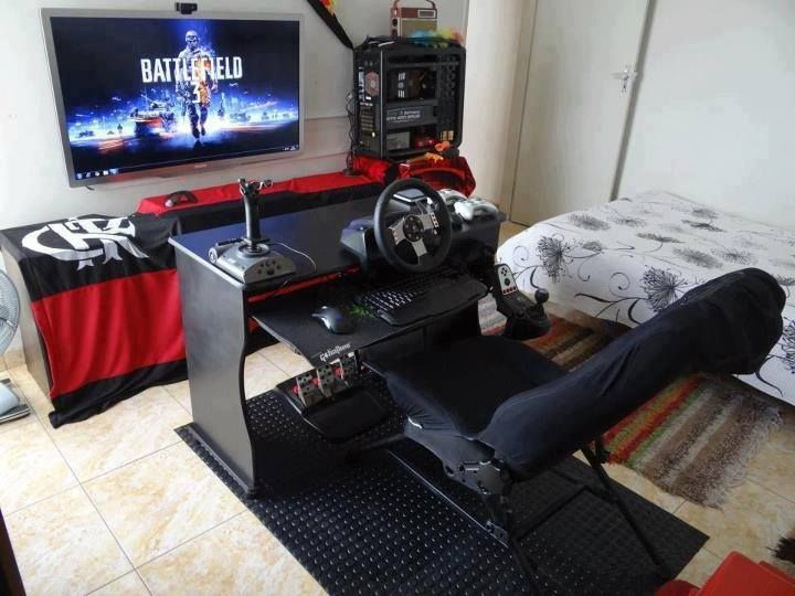 Games   Arcade Style Game Room Design   Cool Bedroom Ideas For Boys