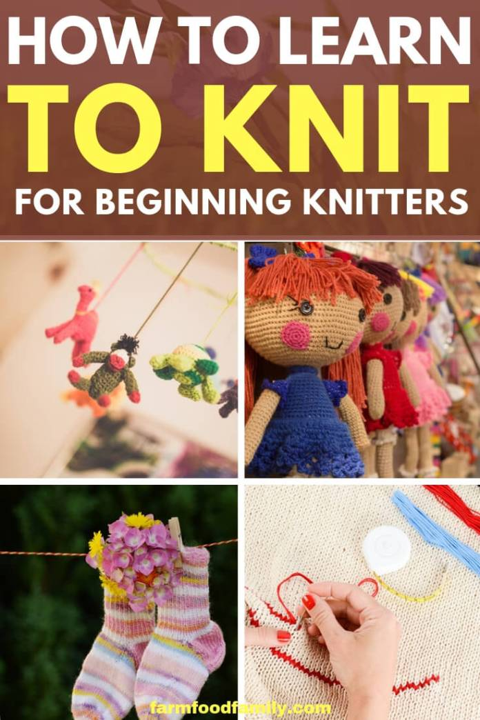 How to Learn to Knit and Find Knitting Supplies