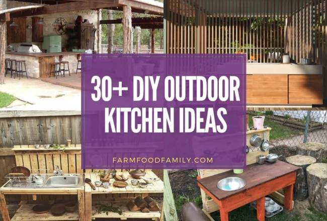 31+ DIY Outdoor Kitchen Ideas (Cheap, Simple, Modern, and Country)