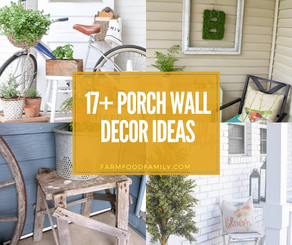 17 Stunning Outdoor Wall Decor Ideas Designs To Beautify Your Porch