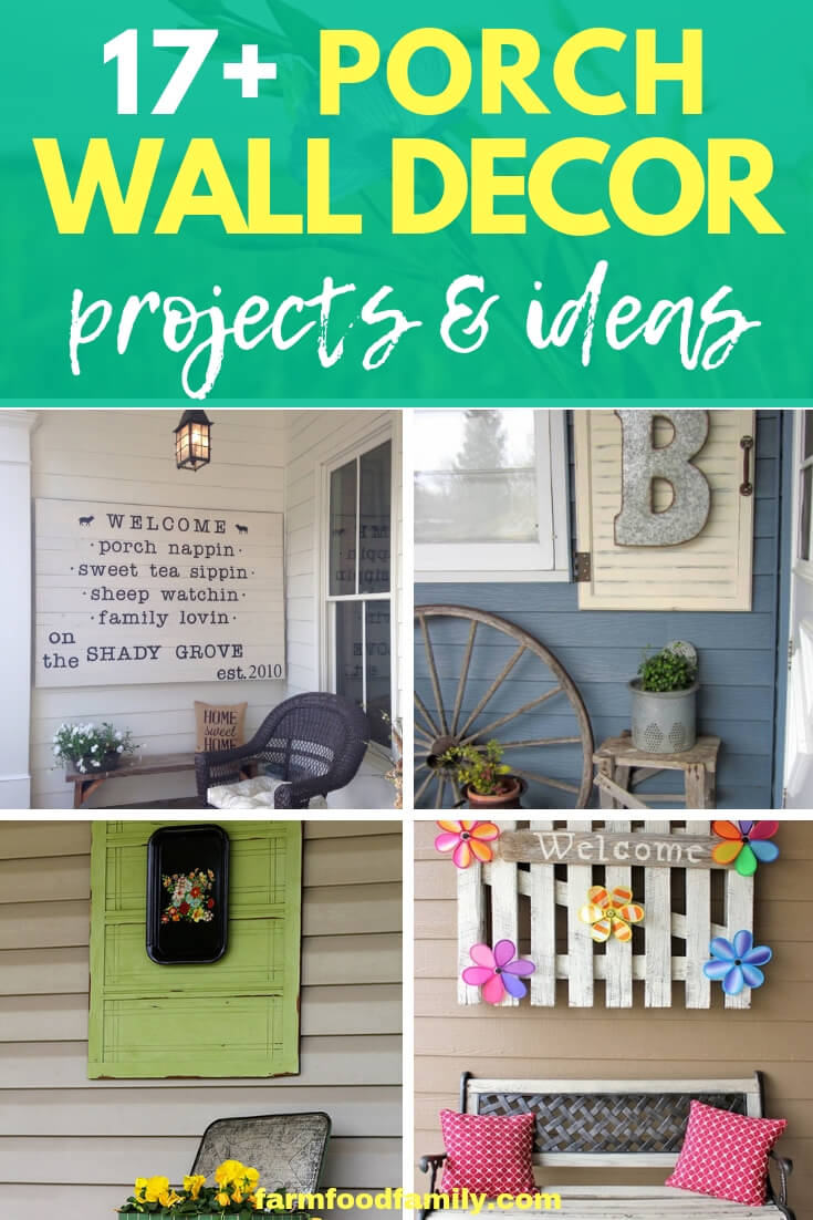 Best outdoor wall decor ideas to beautify your porch