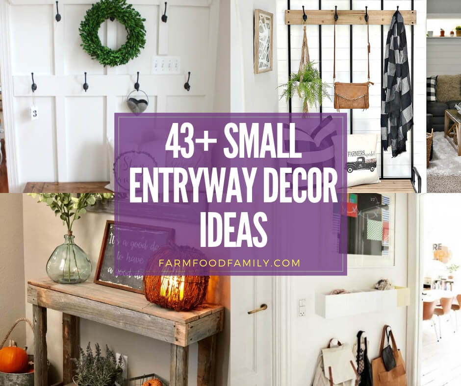 Our 8 Best Spring Decor Ideas Home Tour: 43+ Best Small Entryway Decor & Design Ideas To Upgrade