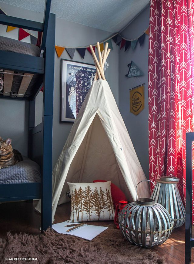 Camping | Cool Bedroom Ideas For Boys