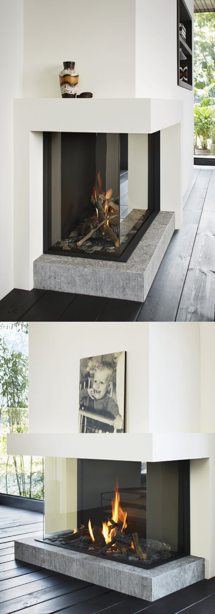 Tulp Gas Fireplace