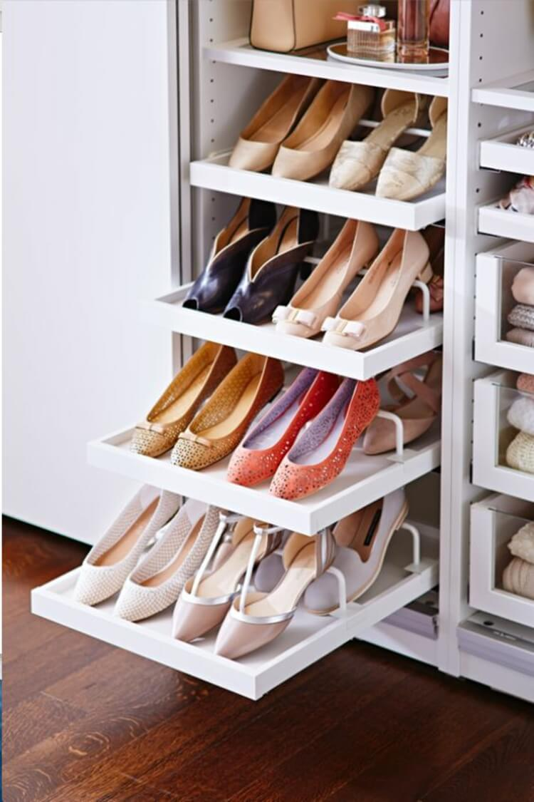 Shoe Cabinet | Smart Shoe Storage Ideas & Designs For Any Zoom Size