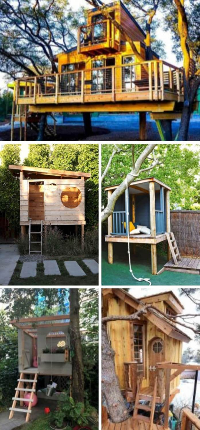DIY Treehouse | DIY Backyard Projects For Summer | FarmFoodFamily