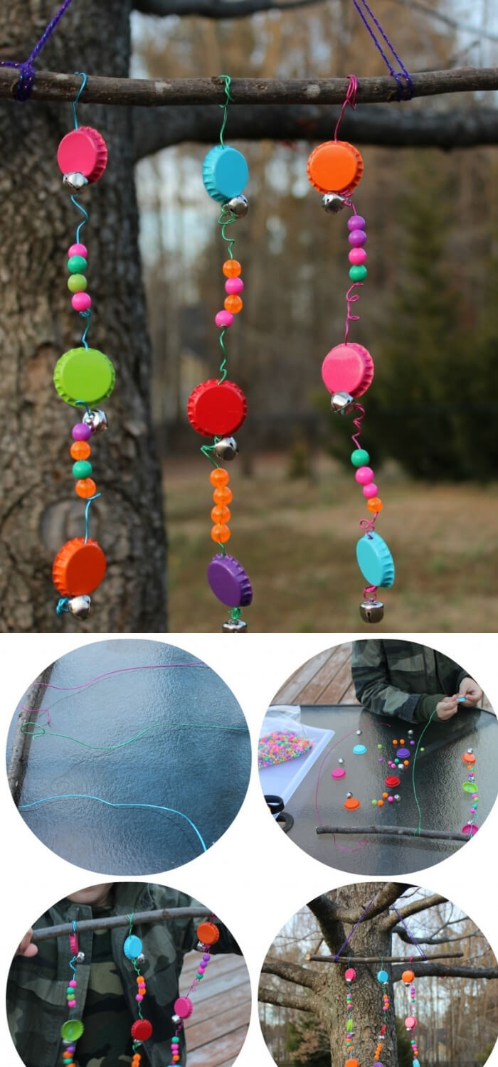 Bottle Cap Wind Chime