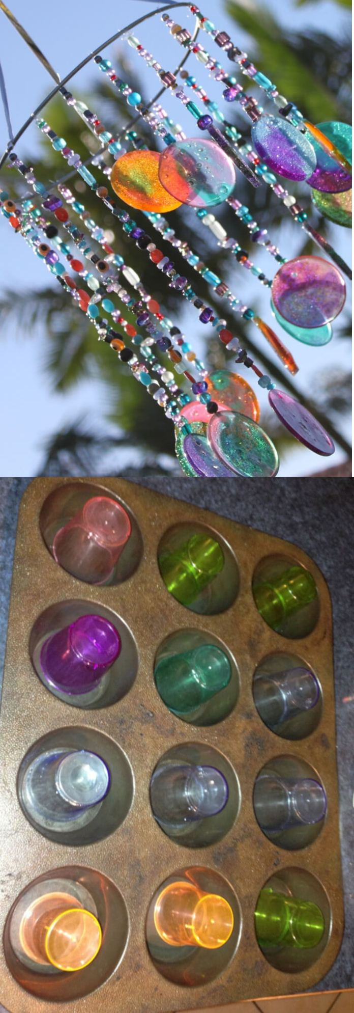 DIY Sun catcher/Wind chime