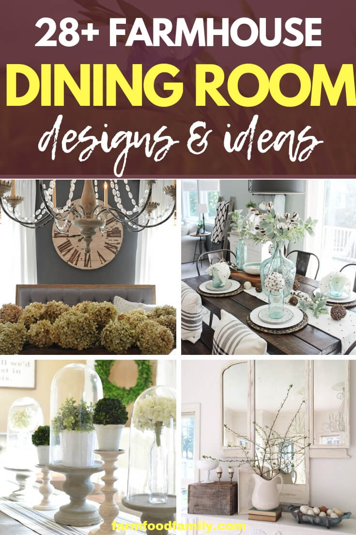 Creative Farmhouse Dining Rom Decor & Design Ideas For Your House
