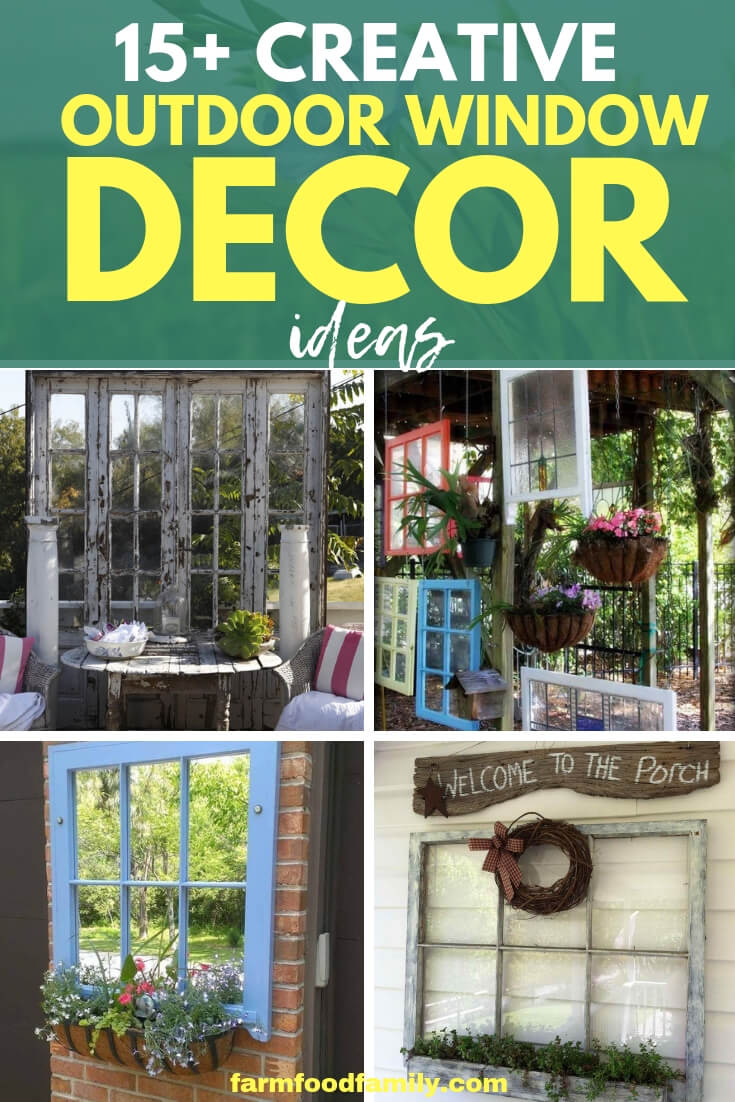 Best DIY Outdoor Window Decor Ideas