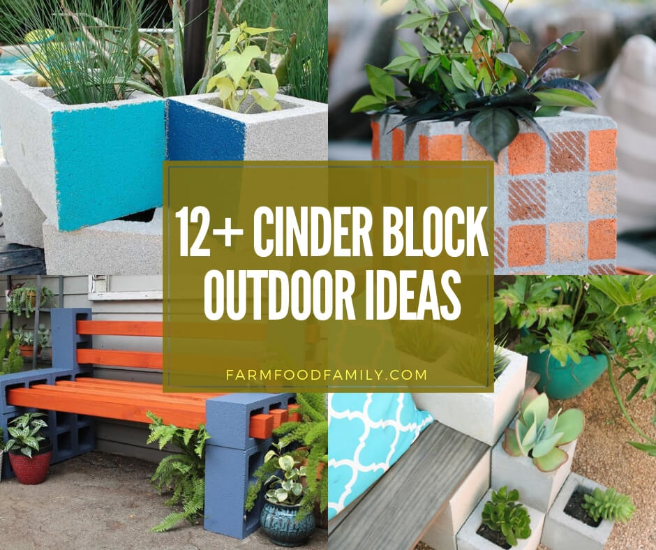 7 Affordable Landscaping Ideas For Under 1 000: 12+ Creative Cinder Block Outdoor Ideas & Designs For 2019