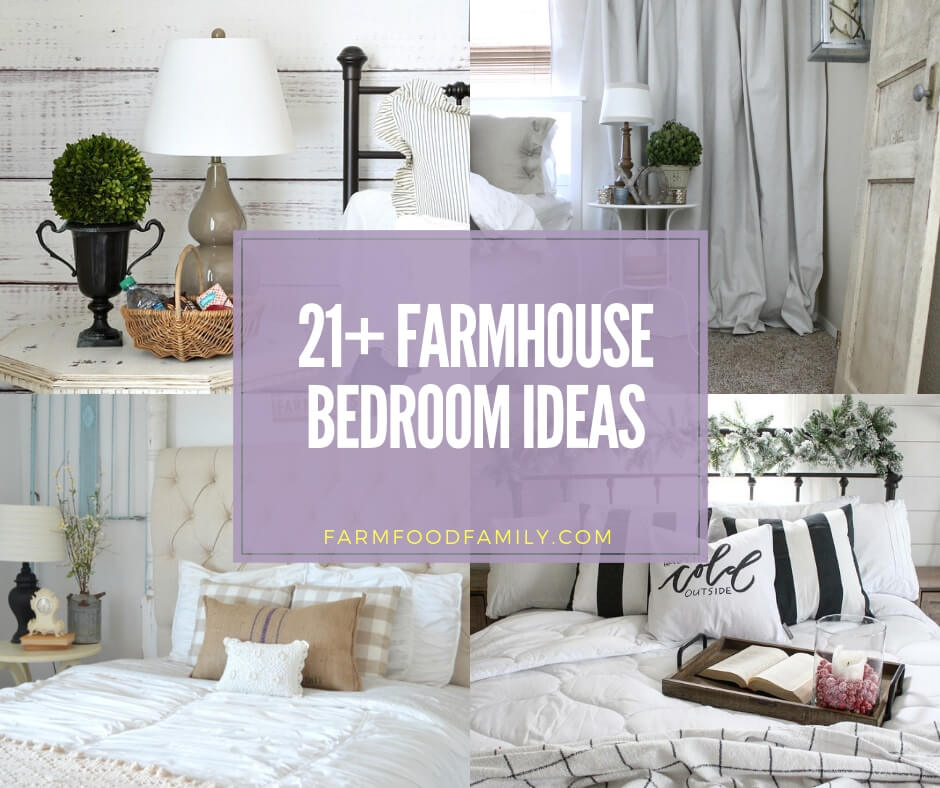 21 Rustic Farmhouse Bedroom Decorating Ideas For 2021