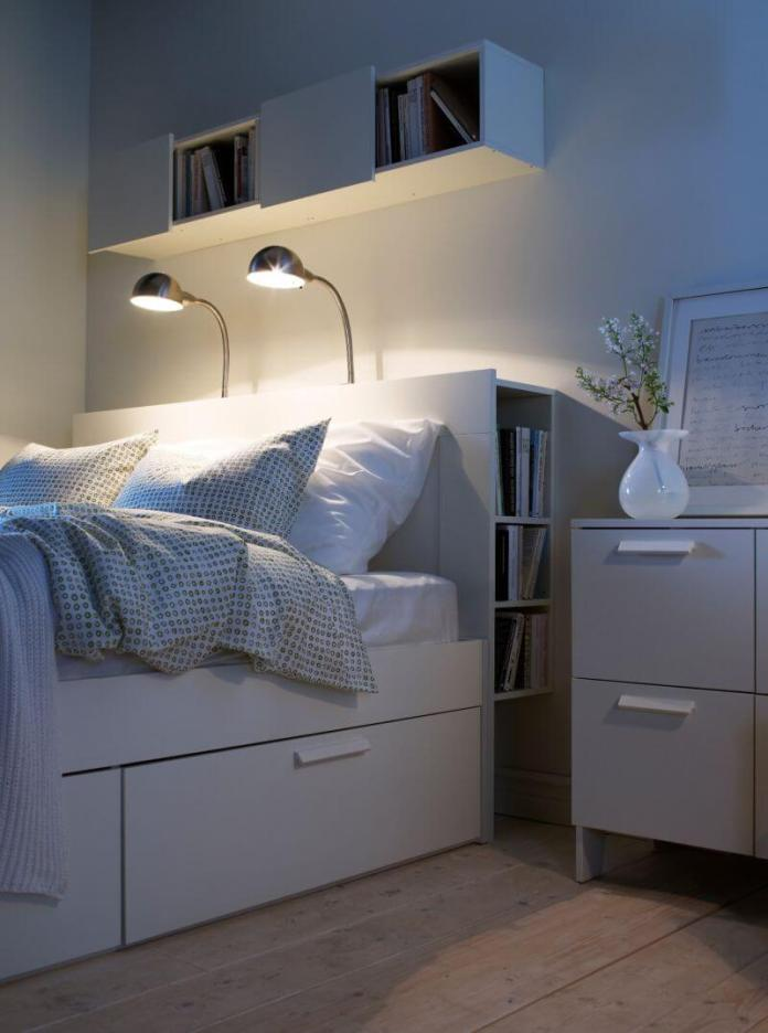 best bedroom organization ideas Ikea design in a minimalist style