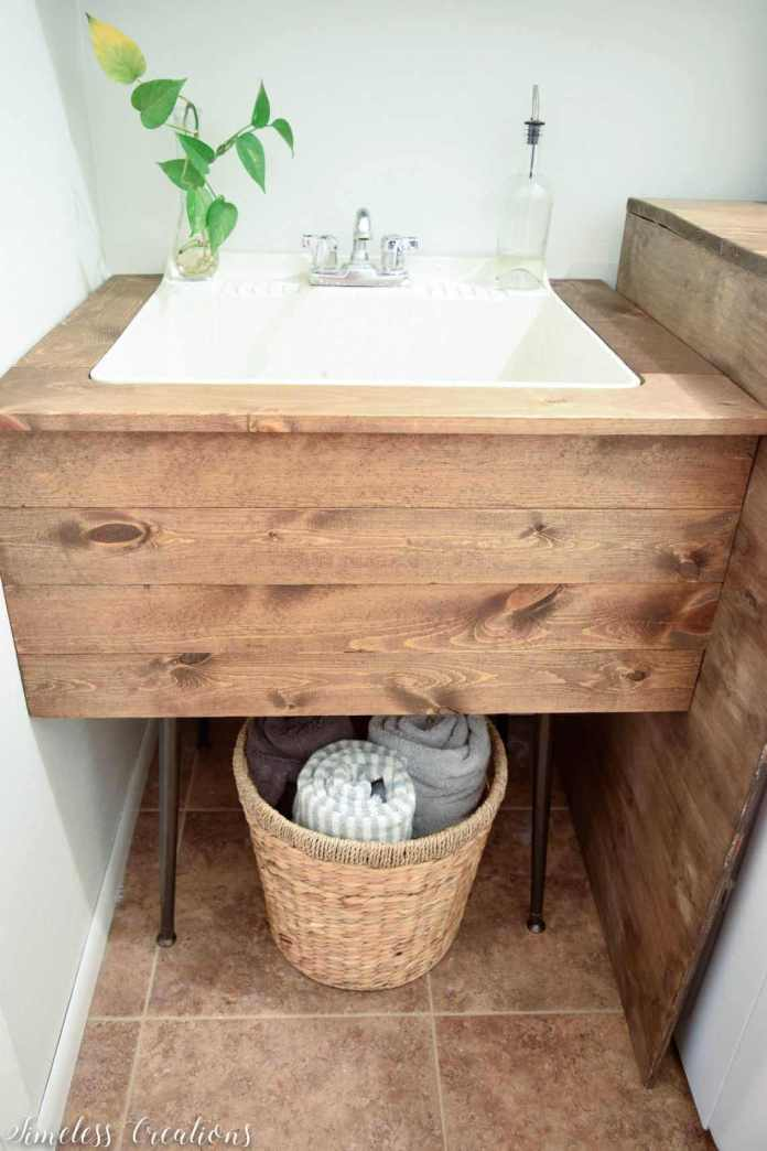 DIY Utility Sink Makeover