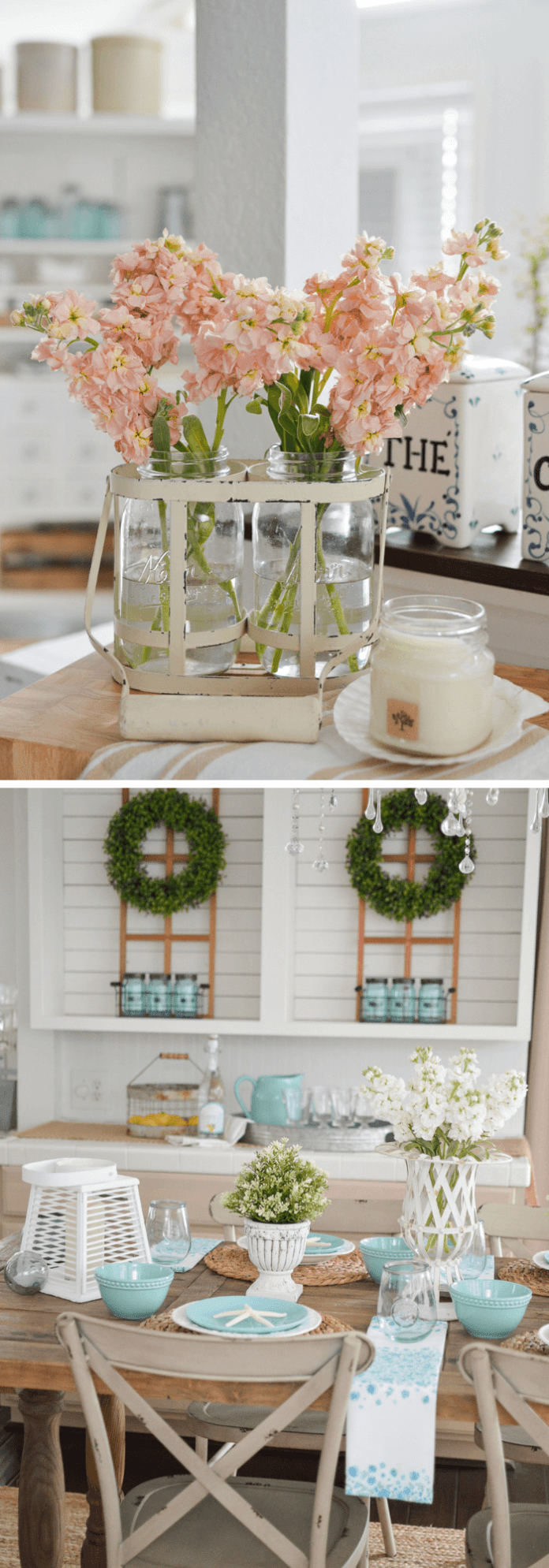 Summer Farmhouse Decor Ideas & Designs Summer farm table decorating