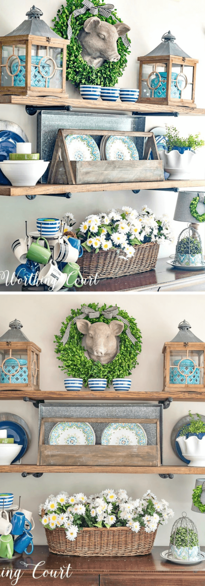 Summer Farmhouse Decor Ideas & Designs Summer farmhouse self decor