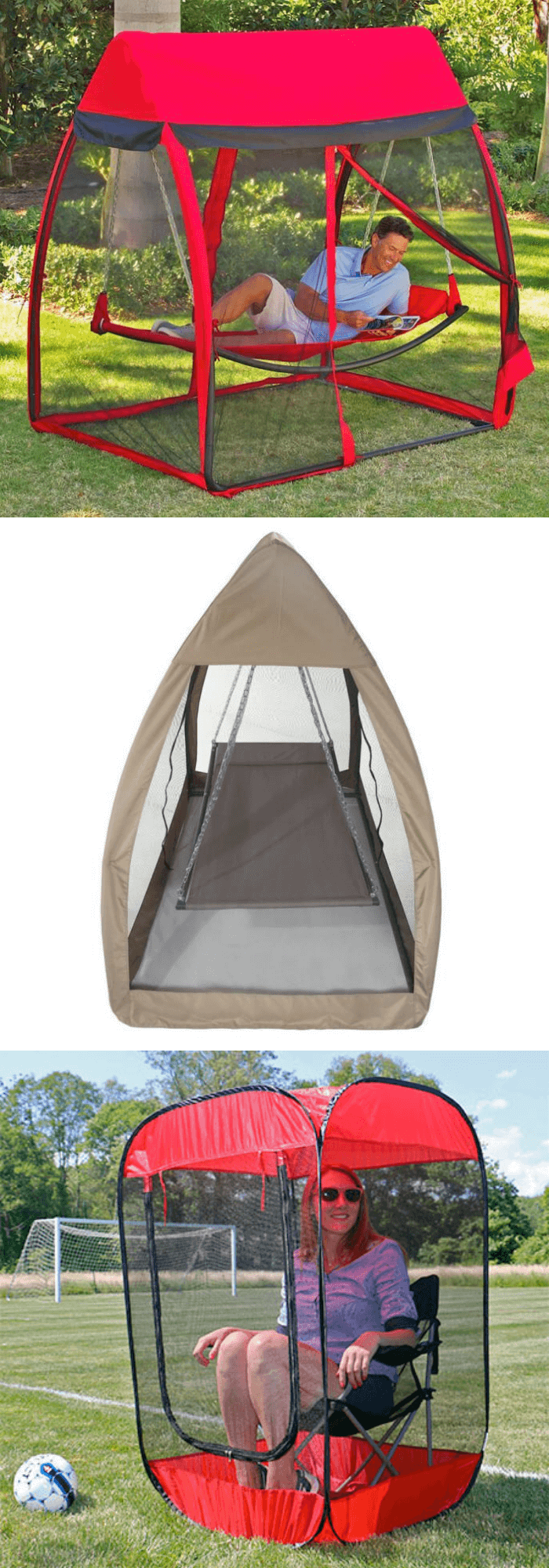 best backyard hammock ideas Bug-Stopping Backyard Hammocks