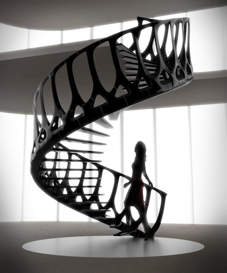 Large or compact, the stairs have infinite possibilities of having exceptional design.