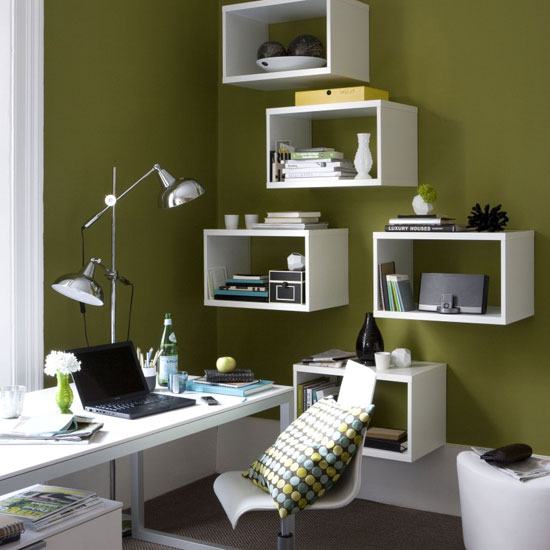 Cubical Office Shelving Ideas