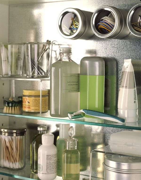Magnetic spices that you can place in your bathroom