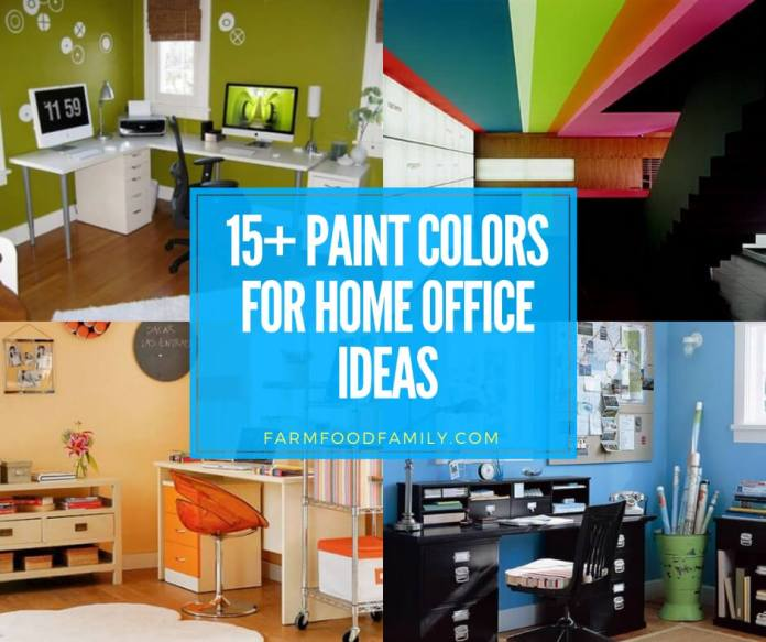 best paint colors for home office ideas