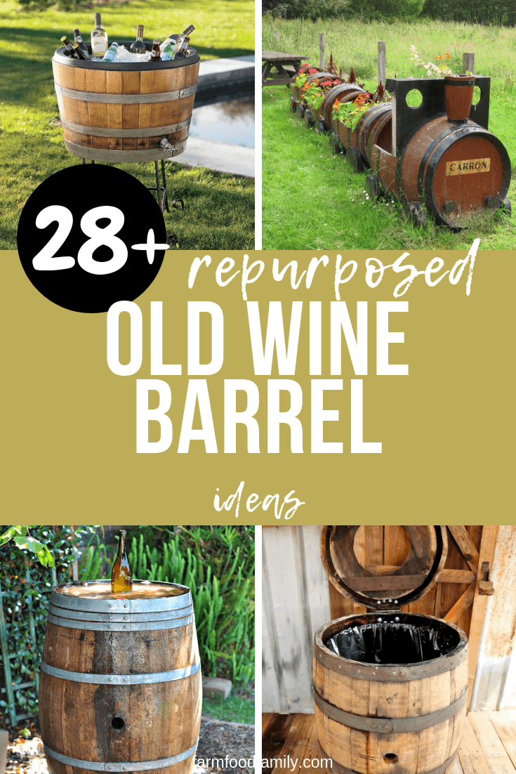 28 Best Repurposed Old Wine Barrel Ideas Amp Projects For 2020