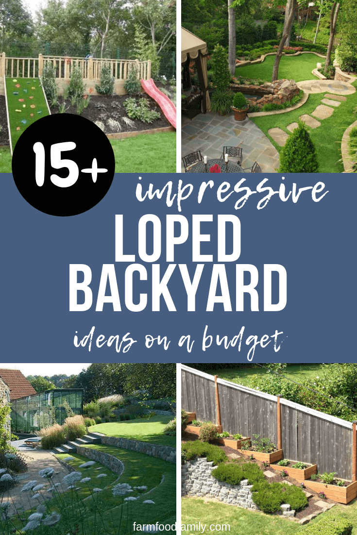 21+ Best Sloped Backyard Ideas & Designs On A Budget For 2019 on Sloped Yard Ideas id=54275