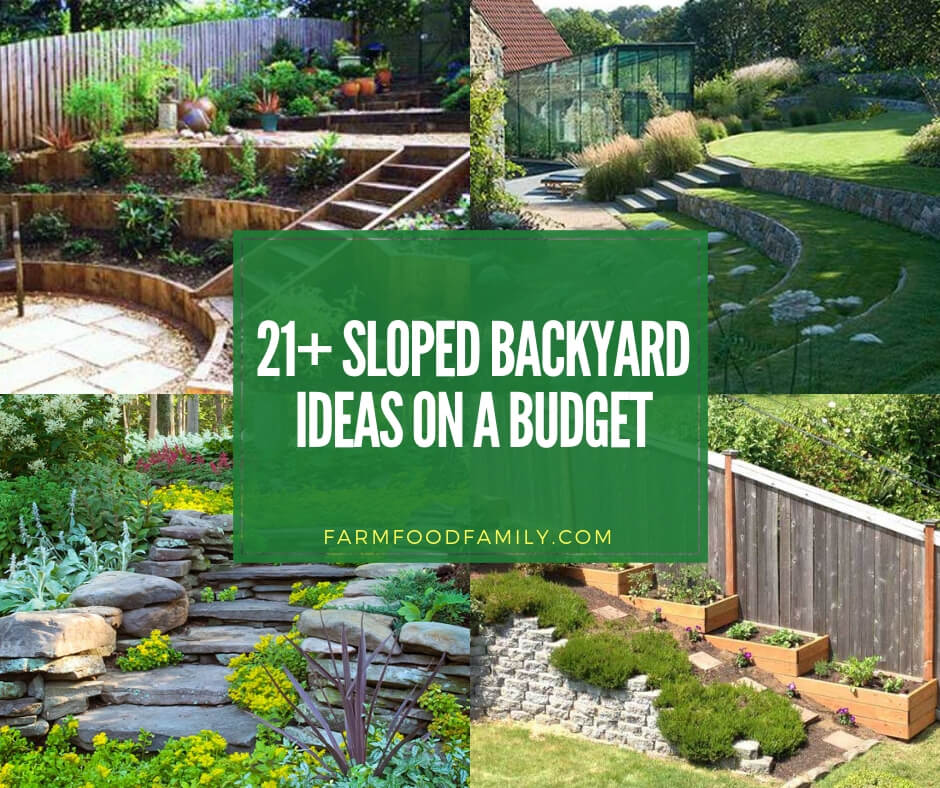 Landscaping Ideas In 2019: 21+ Best Sloped Backyard Ideas & Designs On A Budget For 2019