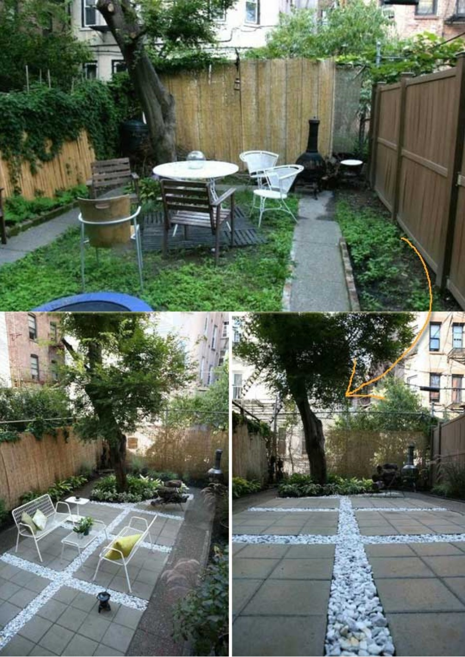 24+ Best White Gravel Landscaping Ideas and Designs For 2020 on White Patio Ideas id=46933
