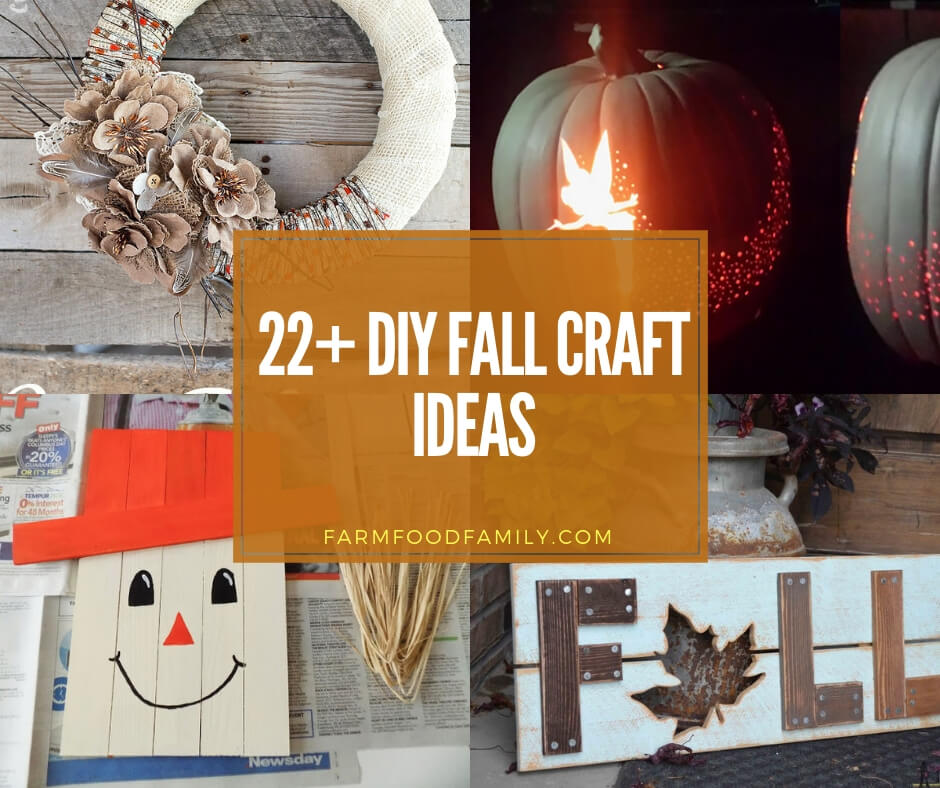 21 Creative Diy Lighting Ideas: 22+ Creative DIY Fall Craft Ideas And Projects For This