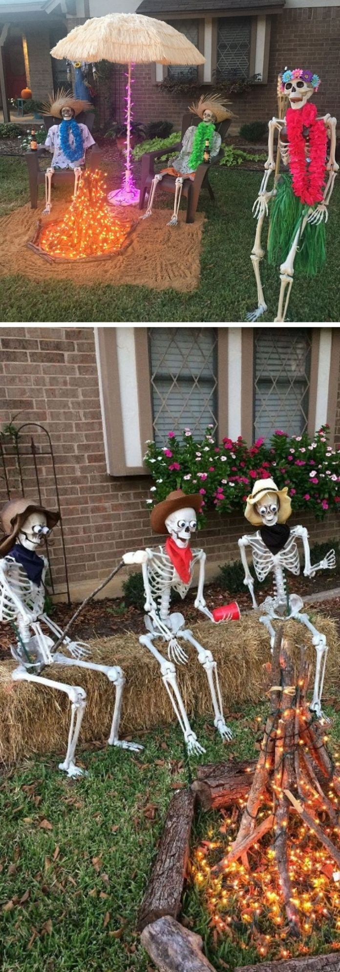 31 Scary Halloween Outdoor Decoration Ideas to Try For 2020