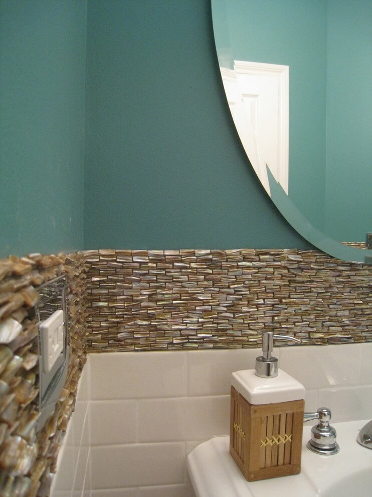 25+ Best Bathroom Wall Tile Ideas With Mother Of Pearl For ...