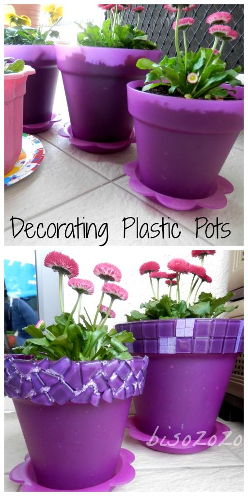 18 Creative Diy Plastic Flower Pot Projects And Ideas For