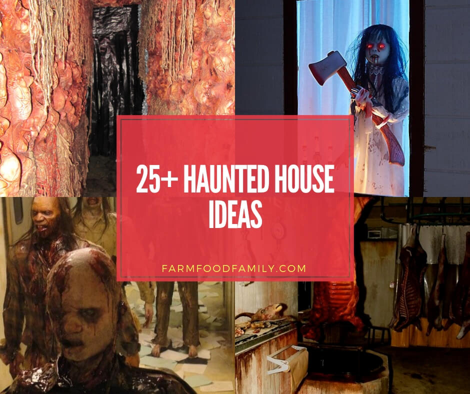 Mason Jar Wedding Ideas: 25+ Scary Haunted House Ideas For This Halloween 2019