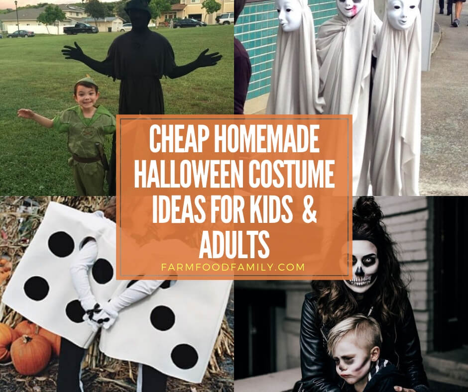 cheap easy homemade costumes adults