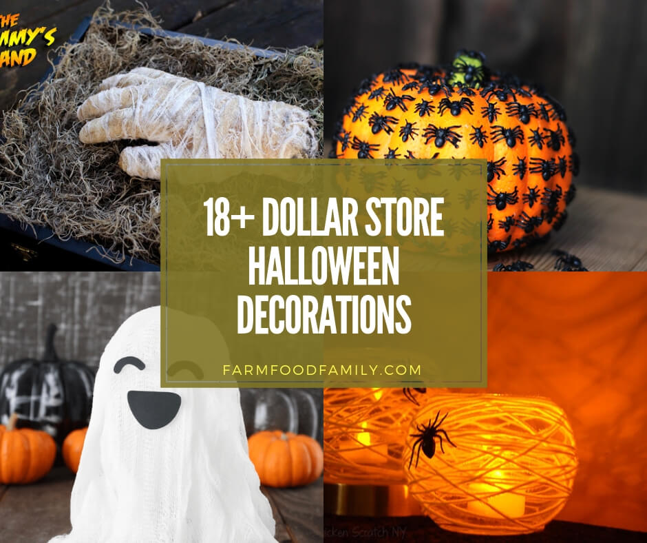 18+ Best DIY Dollar Store Halloween Decorations For 2020