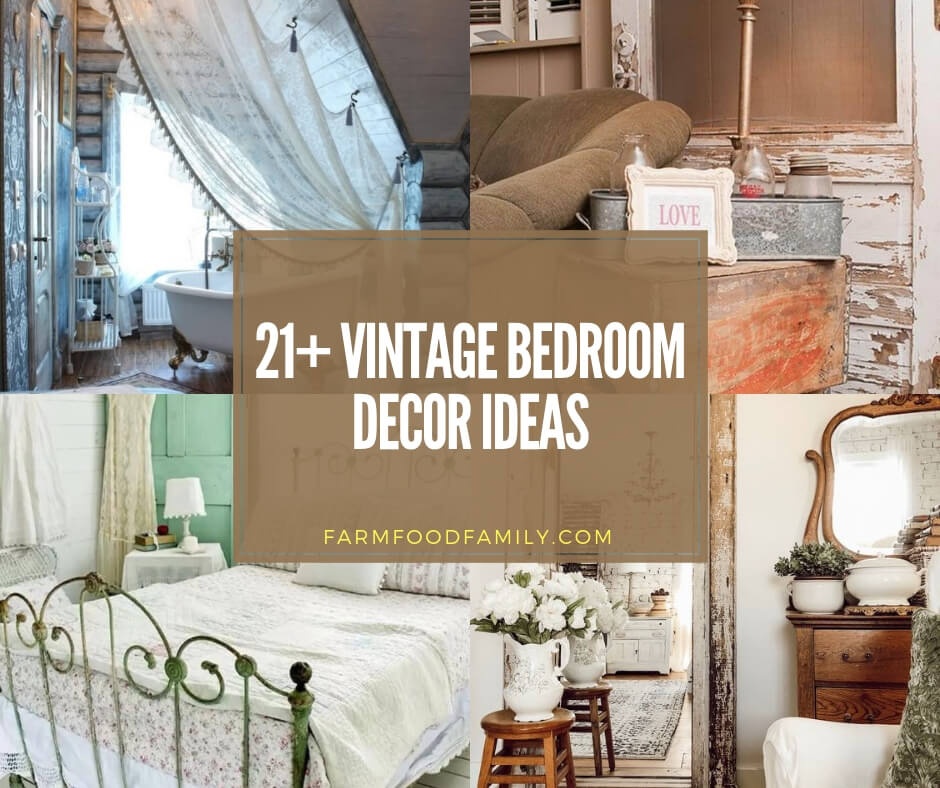 21 Beautiful Vintage Bedroom Decor Ideas Designs For 2020