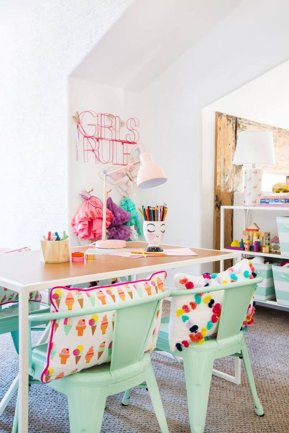 Fun with colors - Clever DIY Toy Storage & Organization Ideas & Projects For Kids