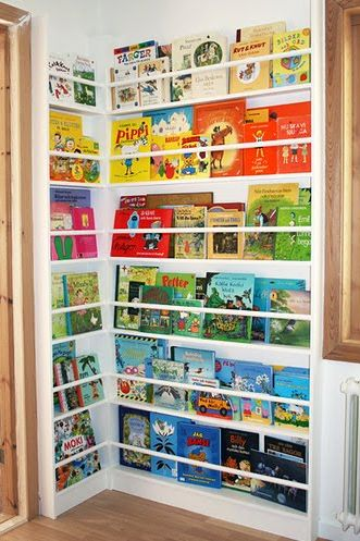 Color coordinating - Clever DIY Toy Storage & Organization Ideas & Projects For Kids