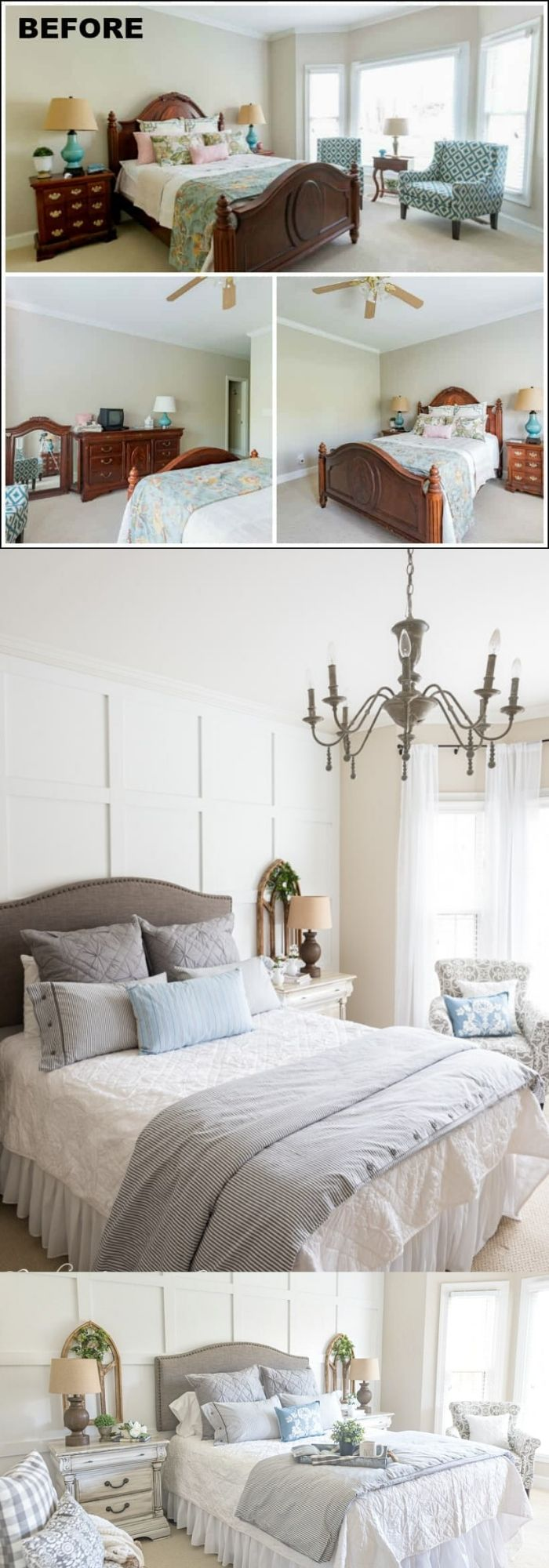 21+ Best Farmhouse Guest Bedroom Decor Ideas & Designs In 2020