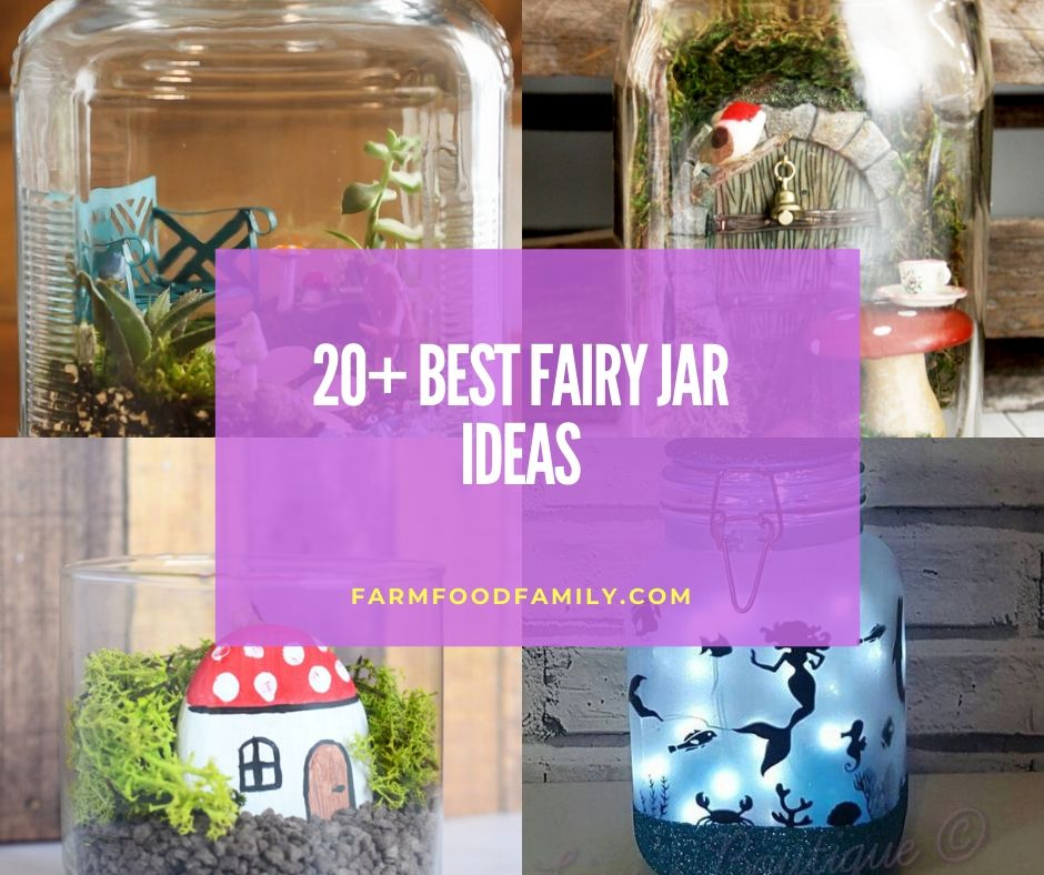 20 Beautiful Diy Fairy Jar Ideas Designs For 2021