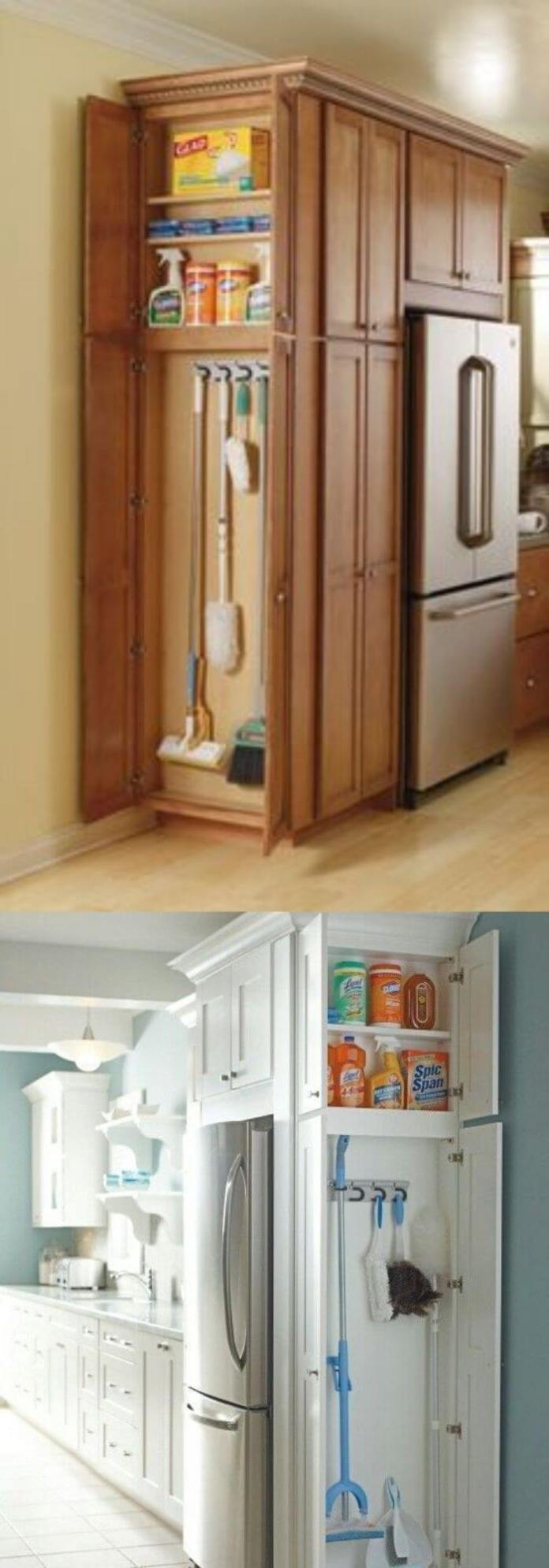 24 Clever Small Kitchen Storage Ideas Hacks Easy In 2021