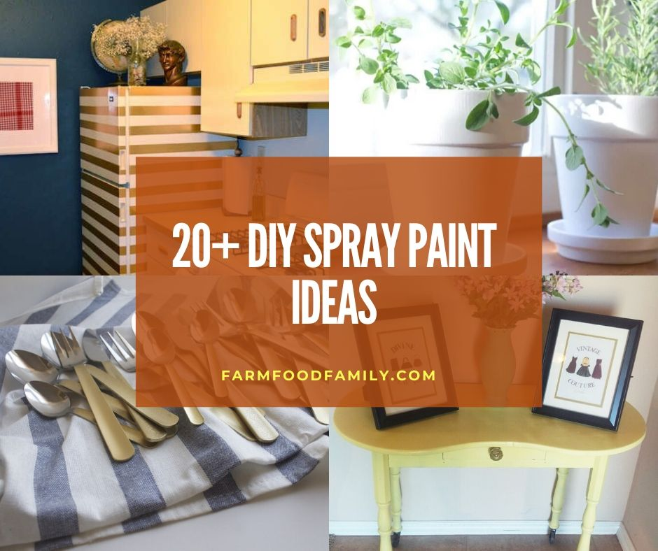 20 Cool And Easy Spray Paint Ideas Techniques For 2021