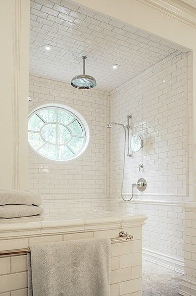 The royal white shower