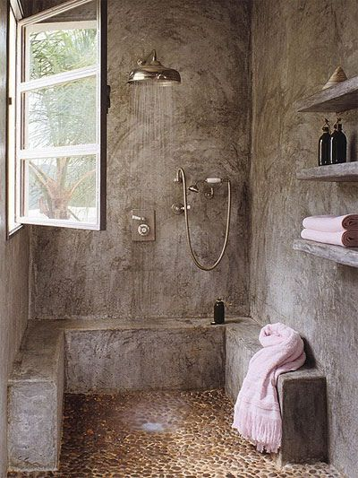 The rustic look